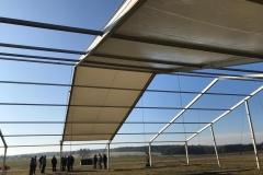 Aufbau - Zeltdach